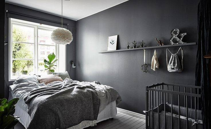 Best Dark Grey Bedrooms Ideas Pinterest Charcoal