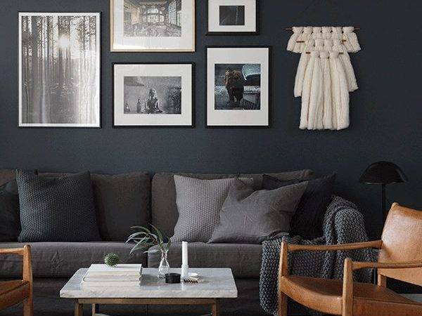 Best Dark Grey Walls Ideas Pinterest