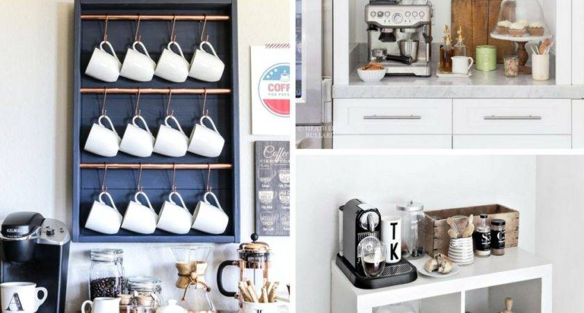 Best Diy Coffee Station Ideas Need She