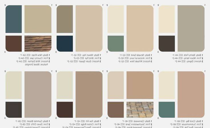 Best Exterior Color Combinations Ideas Pinterest