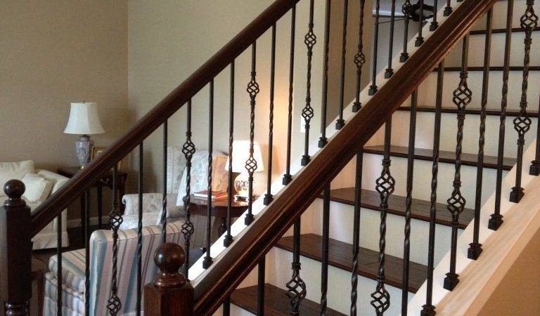 Best Fresh Wooden Staircase Railing Designs India