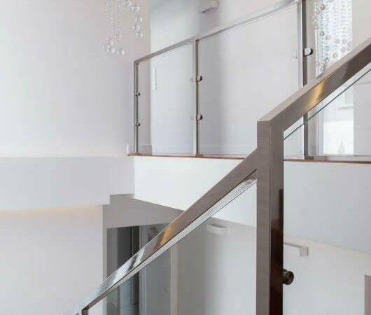 Best Glass Stair Railing Ideas Pinterest