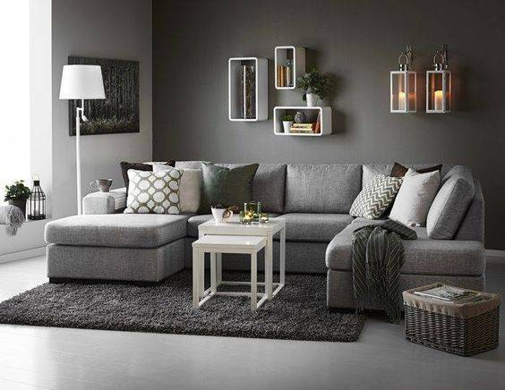 Best Gray Living Rooms Ideas Pinterest Couch