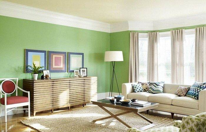 Best Green Interior Paint Colors Design Ideas