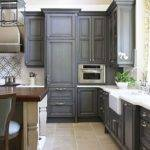 Best Grey Color Kitchen Cabinets Interior Design Ideas