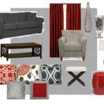 Best Grey Red Bedrooms Ideas Pinterest