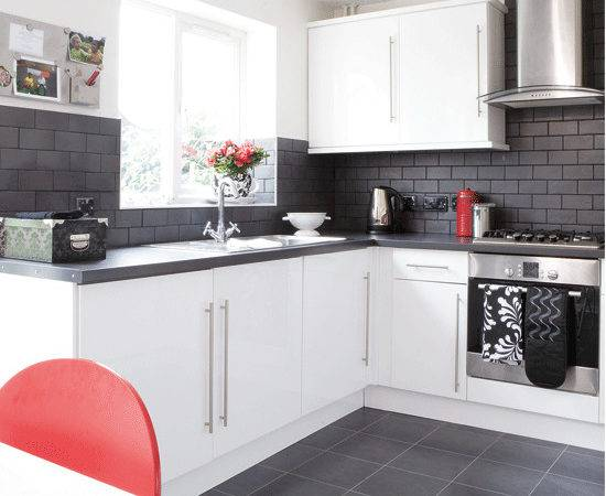 Best Ideas Build Black White Kitchen