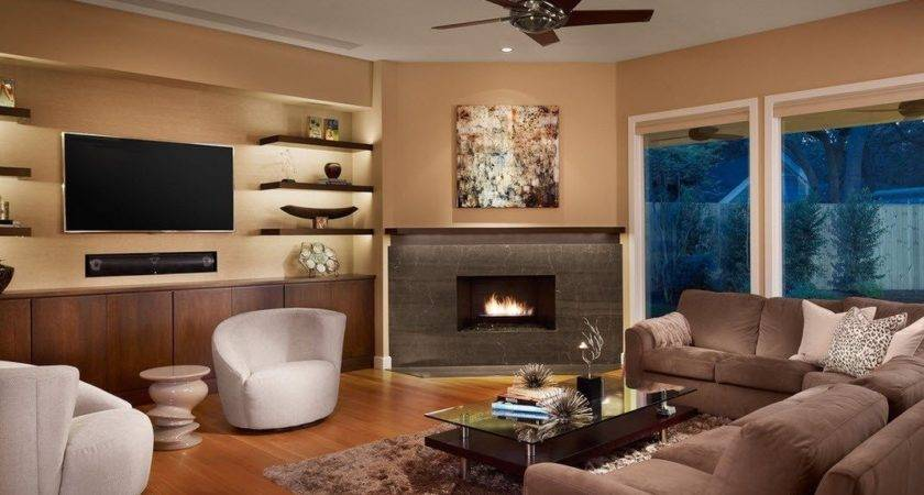 Best Ideas Corner Fireplace Living Room