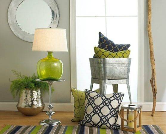 Best Lime Green Decor Pinterest Home