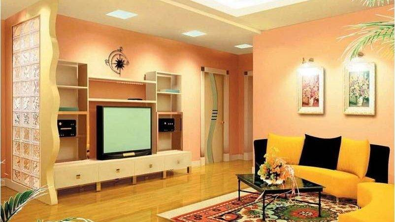Best Living Room Wall Color Painting Small Home