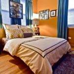 Best Orange Bedroom Curtains Ideas Pinterest