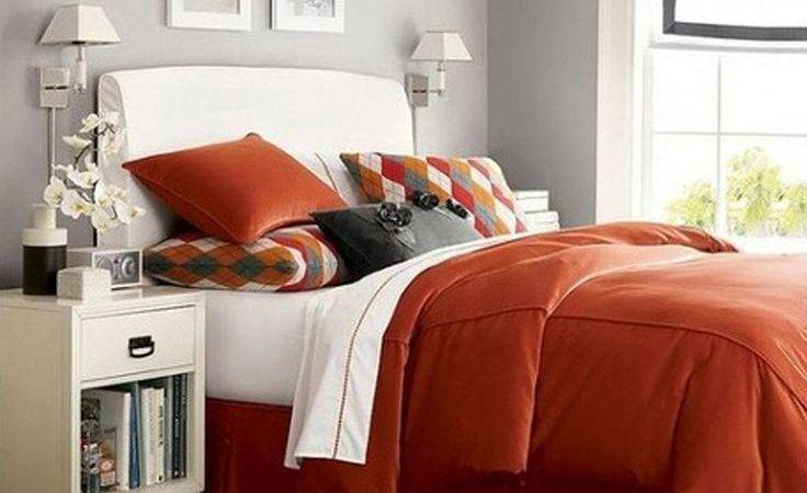 Best Orange Bedroom Decor Ideas Pinterest