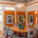 Best Orange Dining Room Ideas Pinterest Burnt