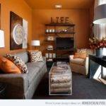 Best Orange Living Rooms Ideas Pinterest
