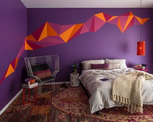 Best Orange Purple Design Ideas Remodel Houzz