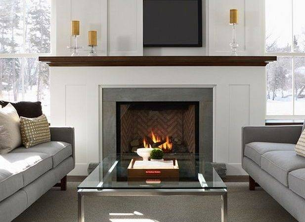 Best Over Fireplace Ideas Pinterest Fireplaces