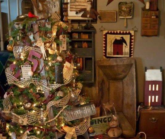 Best Primitive Country Christmas