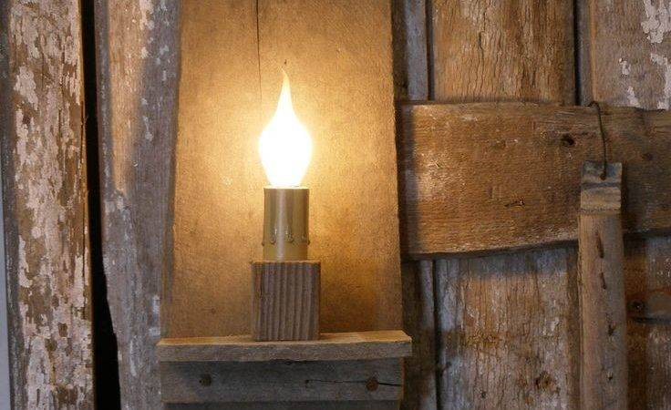 Best Primitive Lighting Ideas Pinterest