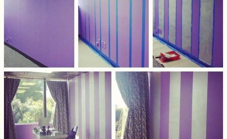 Best Purple Striped Walls Ideas Pinterest