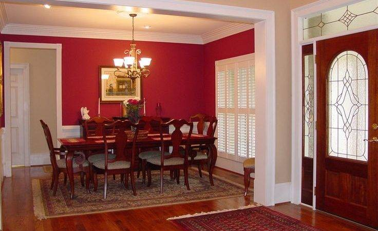Best Red Dining Rooms Ideas Pinterest Accent