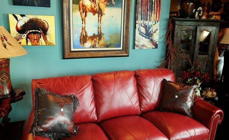 Best Red Leather Sofas Ideas Pinterest Living