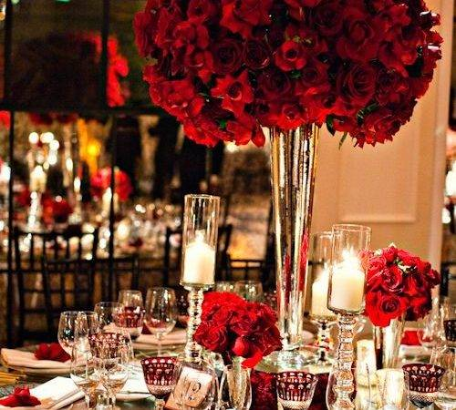 Best Red Rose Wedding Ideas Pinterest