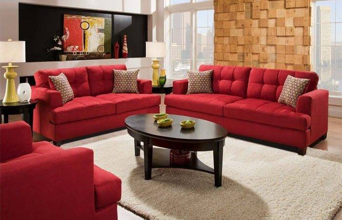Best Red Sofa Ideas Pinterest Decor