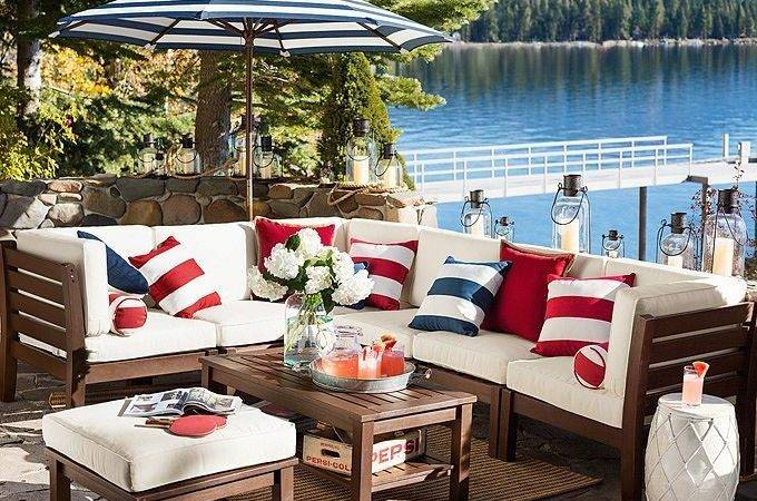 Best Red White Blue Decorating Pinterest