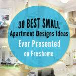Best Small Apartment Designs Ideas Ever Presented