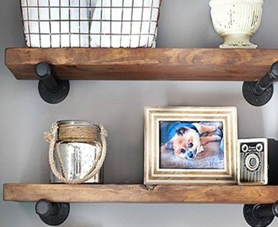 Best Small Shelves Ideas Pinterest Walnut