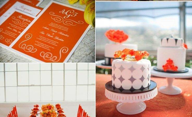Best Tangerine Wedding Pinterest Orange