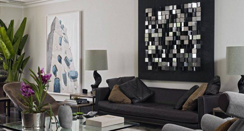 Best Wall Art Living Room Modern Black