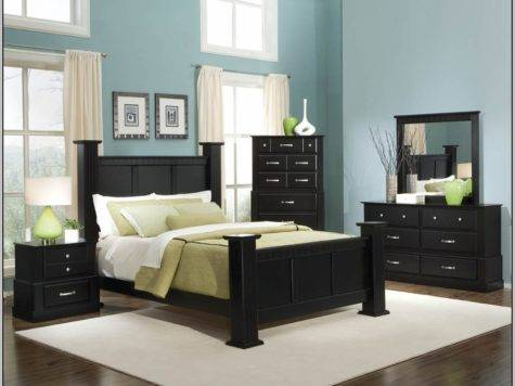 Best Wall Color Black Furniture Painting
