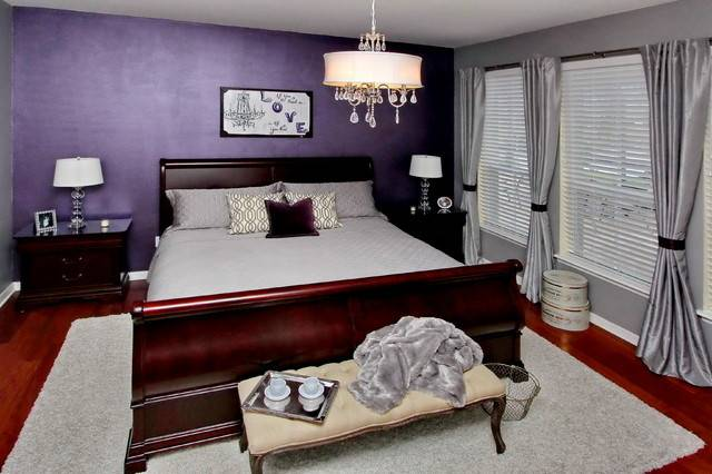 Bewitching Purple Bedroom Ideas Mansion