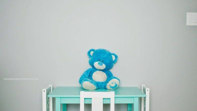 Big Boy Room Teal Blue Life Baby