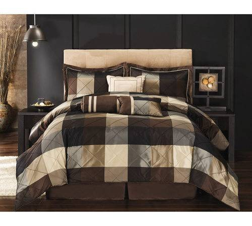 Black Brown Comforter Sets