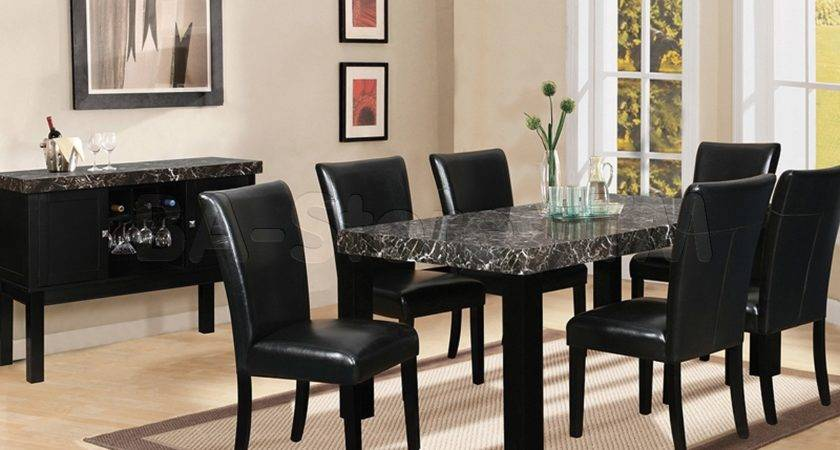 Black Dining Room Chairs Design Ideas