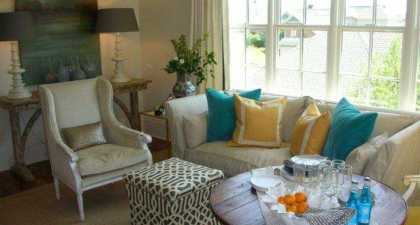 Black Dining Rooms Turquoise Coral Yellow Tan Grey