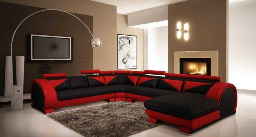 Black Furniture Living Room Ideas Leather Home Design