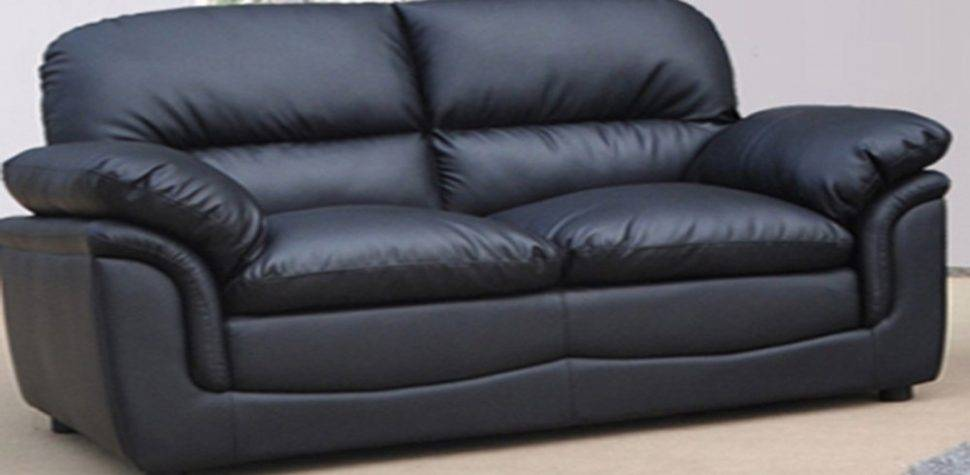 Black Leather Seater Sofa Decor Ideasdecor Ideas