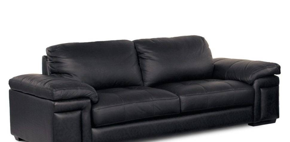 Black Leather Sofa Cushions Home Design Ideas