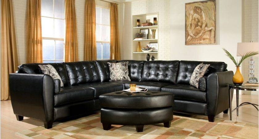 Black Living Room Furniture Decorating Ideas Cool