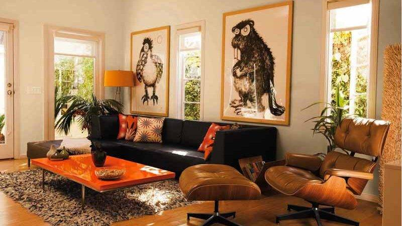 Black Living Room Ideas Mixing Key Design