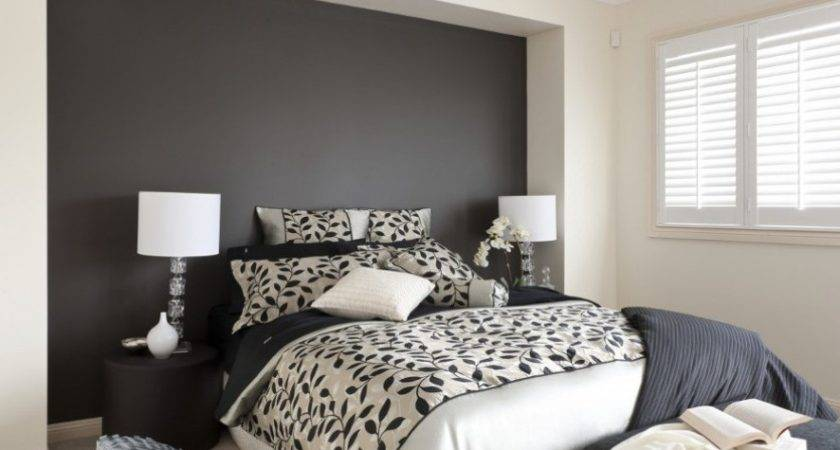 Black Neutral Bedroom Inspirations Paint