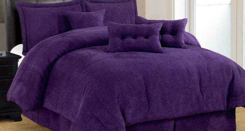 Black Purple Bedding Sets