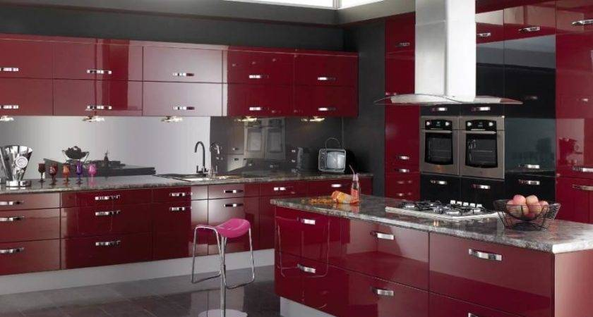 Black Red Kitchen Decor