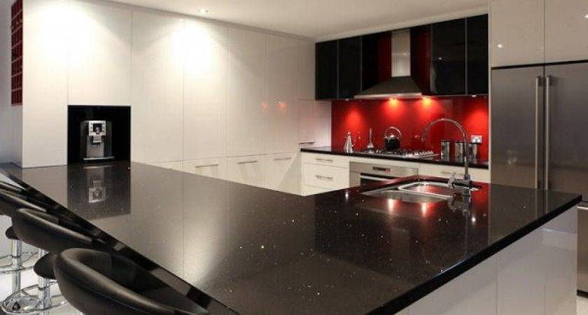 Black Red Kitchen Designs Amazing Decor