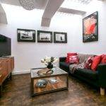 Black Red Living Room Decorating