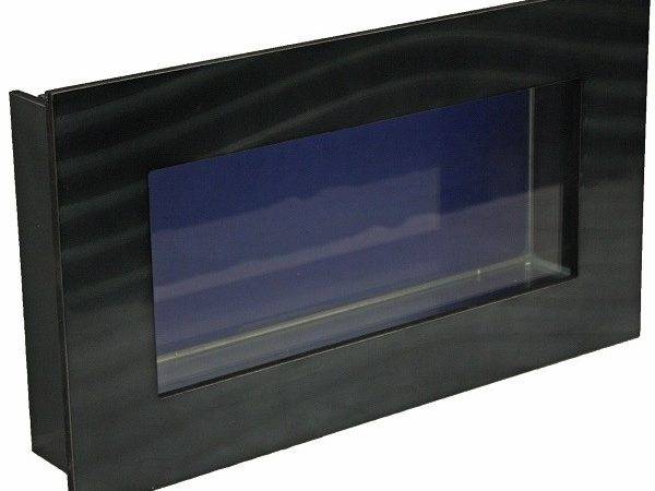 Black Small Rectangular Wall Mounted Fish Tank