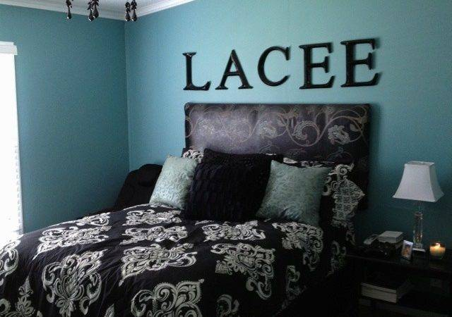 Black Teal Bedroom Decorating Ideas